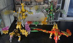 Power rangers mystic force lot of 4 for Sale in Covina, CA