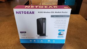 Netgear N300 Wireless Router with DSL Modem for CenturyLink or other DSL providers for Sale in Denver, CO