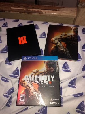 Call of duty black ops 3 hardened edition for Sale in Hialeah, FL