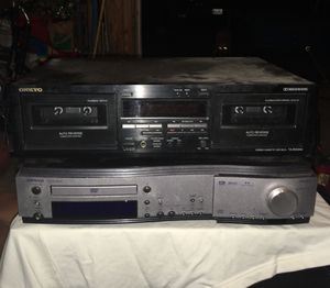 Onkyo Receiver CD Player DR-S2.0 for Sale in Saint Ann, MO