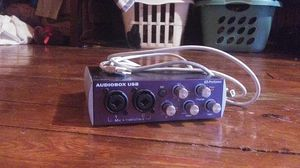 Audiobox usb PreSonus Mbox for Sale in undefined
