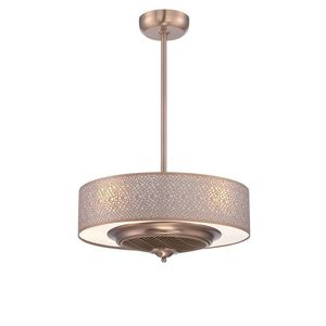 World Imports Cozette Collection 24 in. Indoor Satin Copper Ceiling Fan with Remote Control for Sale in Houston, TX