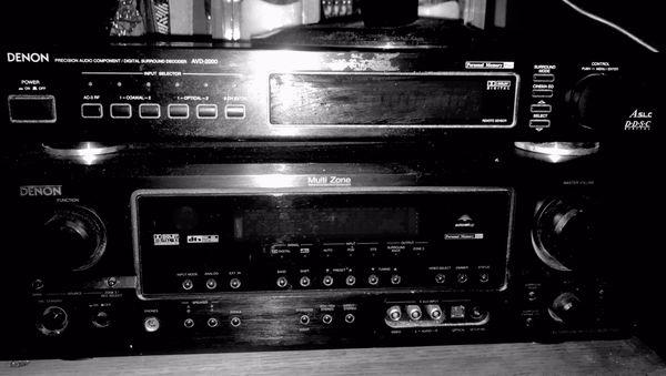 Denon 100 watts per channel digital surround sound decoder and-2000a
