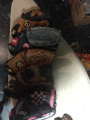 Baseball gloves for Sale in Indianapolis, IN