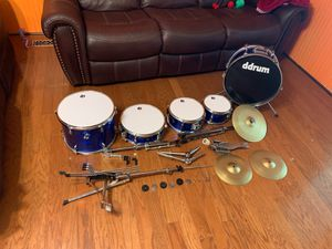 7-piece Youth Ddrum Drum Set (Blue) for Sale in Salisbury, NC
