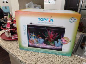 5 gallon colorflow aquarium with lots of extras for Sale in Ontario, CA