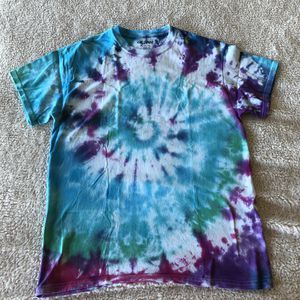 Size M Homemade Spiral Tie Dye T-Shirt for Sale in Newport News, VA