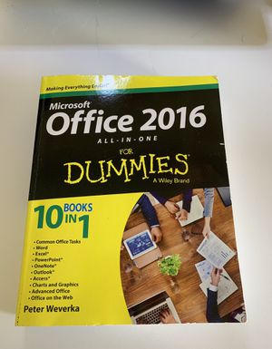 Microsoft Office for Dummies Word All in One for Sale in Orlando, FL