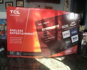 TCL 55 inch 4K TV for Sale in Bell, CA