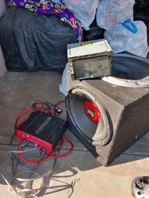 Car stereo system for Sale in Visalia, CA