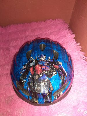 Transformers Child's Bike/ Cycle Helmet and Bike Bell Ages 5+ for Sale in Los Angeles, CA
