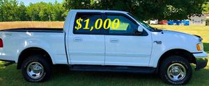 ✅$1,OOO For sale URGENT 2002 Ford F150 Clean title. Everything works well inside and out ,Engine V8, Runs And Drives Great With No Issues! ✅ for Sale in Fort Lauderdale, FL