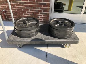 Olympic weights 45 plates for Sale in Atlanta, GA