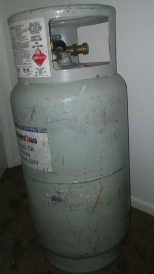 Propane tank 40 pounds for Sale in US