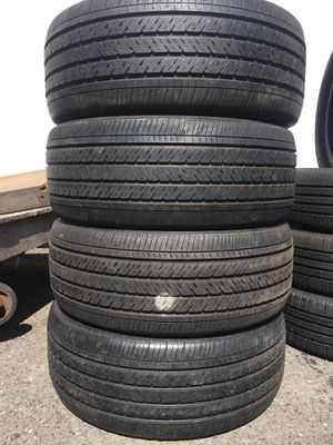 235/50/18 Michelin set of used tires in great condition 70% tread 200$ for 4 . Installation balance and alignment available. Road force balance avai for Sale in Union, NJ