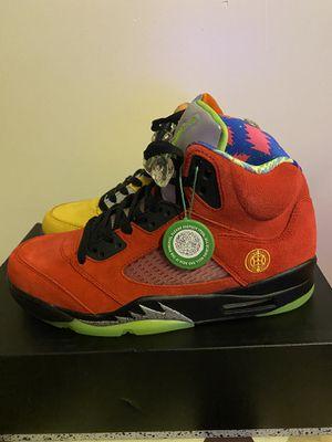 Air Jordan what the 5 for Sale in Arlington, VA
