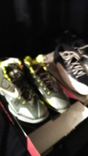 Nike shoes lebron x1njordan 12 retro for Sale in Tacoma, WA