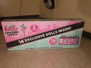 LOL 14 + dolls - LAST ONE - BRAND NEW. - NEVER OPEN for Sale in Sacramento, CA