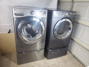 Lg Washer and Gas Dryer for Sale in Glendale, AZ