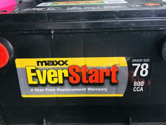 Brand New Car Battery From Wal Mart Size 78, I Paid $100 for Sale in Des Moines,  WA