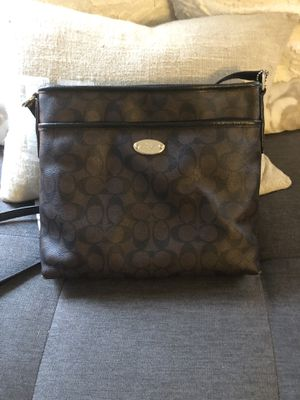 Coach oversized Clutch Purse for Sale in Channelview, TX