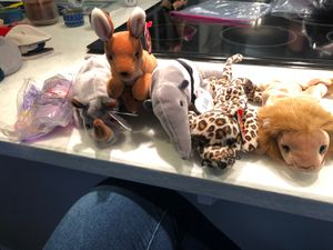 Zoo animals beanie babies for Sale in Covington, WA