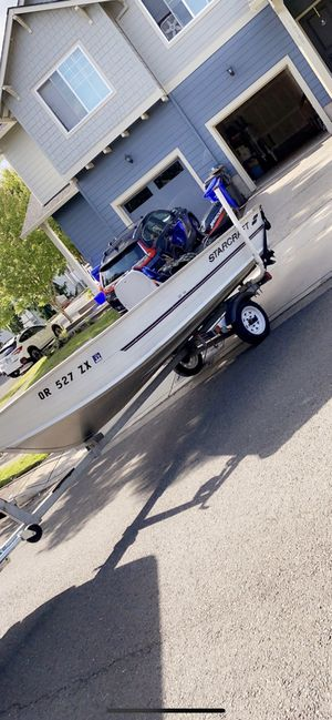 1999 15Ft StarCraft boat for Sale in Oregon City, OR