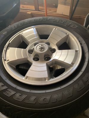 2015 Tacoma rims/tires for Sale in Puyallup, WA
