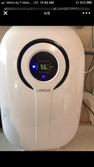 Lonove dehumidifier for Sale in Indianapolis, IN