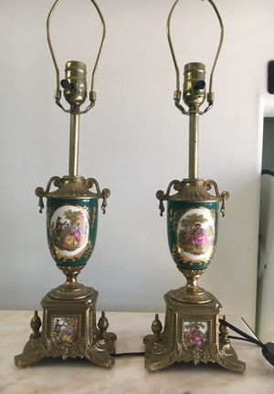 Italian lamp set for Sale in Los Angeles, CA