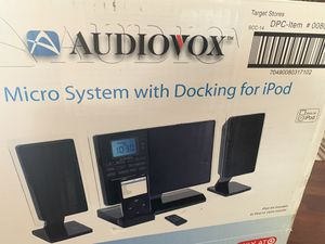 Audio box CD player and iPod dock SPEAKER for Sale in Los Angeles, CA