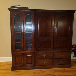 TV stand and storage for Sale in Eastman, GA