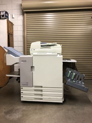 Riso 7050 heavy duty printer with high speed Riso scanner hs4000 for Sale in Phoenix, AZ