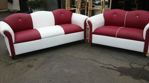 sofa and loveseat couches $399 set for Sale in Commerce, CA