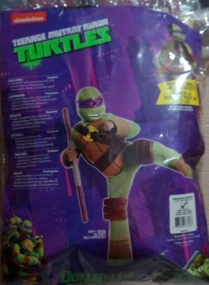 Boys ninja turtles costume sz med 5 to 7 years for Sale in Piney Flats, TN
