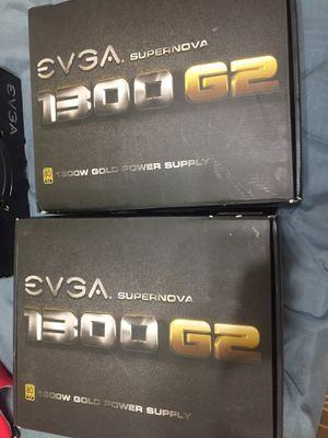 EVGA 1300 G2 power supply's for Sale in Casa Grande, AZ