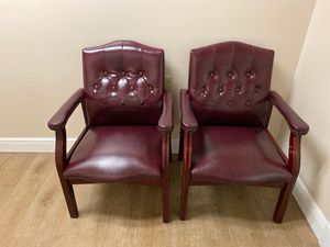 Two Office Chairs (Used) for Sale in Hialeah, FL