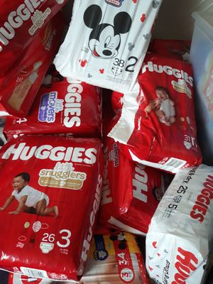 3 packs of Huggies Diapers for Sale in Piedmont, SC