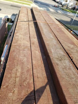 Treated wood 4x10x 16 ft. for Sale in Artesia, CA