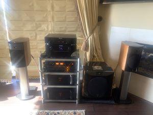 True Audiophile Paradise MSRP Value over $40k Marantz, Classe, Focal, Art, Arcam full blown Audiophile System for Sale in Laguna Beach, CA