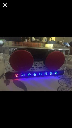 See through Bluetooth speaker for Sale in Silver Spring, MD