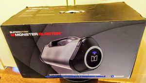 MONSTER BLASTER BLUETOOTH PORTABLE WIRELESS MEGA LOUD SPEAKER NEW IN BOX for Sale in Escondido, CA