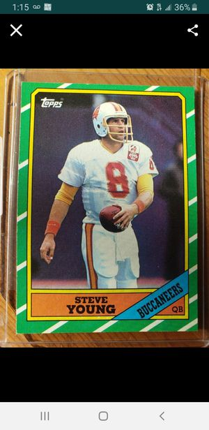 1986 Topps Steve young Rookie card $10 EACH +3 to Ship. (5 are left. ) for Sale in Stockton, CA