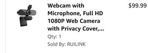 Webcam new in box for Sale in Washington, DC