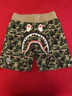 Bape ABC Camo Shark Shorts Size Medium for Sale in Las Vegas, NV