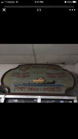 Old wood sign for Sale in Norwich, CT