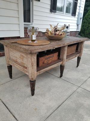 Antique kitchen island ~Antique work table for Sale in Norfolk, VA
