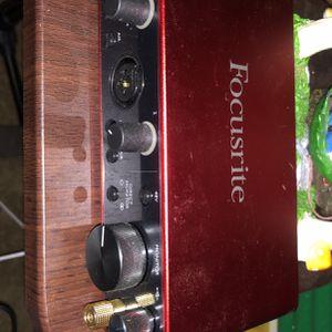 Scarlett 2i2 Audio Interface for Sale in El Cajon, CA