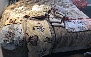 Baby girl crib bedding for Sale in Peachtree Corners, GA