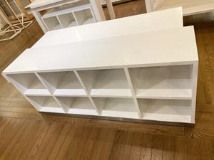 White Wood Bookcases for Sale in Scottsdale, AZ
